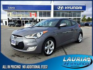 2013 Hyundai Veloster 1 owner / Bluetooth / Push button start