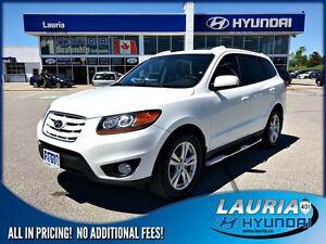 2010 Hyundai Santa Fe 3.5L V6 Limited AWD - Loaded!