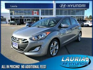 2014 Hyundai Elantra GT Limited Auto - 1 owner / Navigation