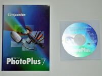Serif PhotoPlus 7, PagePlus 7, 3D Plus2, MailPlus and other supporting discs.