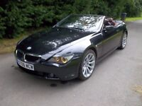 *WILLOW MOTORS OFFER A 630 Ci SPORT AUTO CONVERTIBLE* SAT NAV* RED LEATHER *