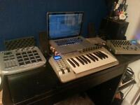 Midi studio set up job lot