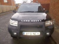land rover freelander TD4 GS AUTO £595 OR OFFERS