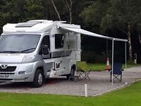 2014 PEUGEOT ELDDIS MAJESTIC 105 2 berth WITH EXTRAS only 10800 miles