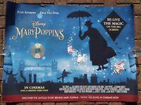 MARY POPPINS- DISNEY- QUAD POSTER - JULIE ANDREWS