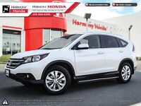2013 Honda CR-V TOURING - ONE OWNER - LOCALY BOUGHT & SERVICED -