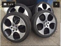 Vw Mk6 GTI Monza Alloy wheels