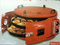 NEW ITIMAT DOUBLE TRAY ELECTRIC ROASTER / OVEN FOR CHICKENS & PIZZA