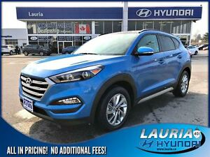 2017 Hyundai Tucson 2.0L SE AWD - Leather / Panoramic sunroof