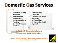 Gas Safe Engineer,Boiler Repair/Services, Gas Certificates, Cooker/Hob, Plumbing/Plumber/Plumbers