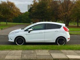 Ford Fiesta Titanium 1.6 TDCI - 55k Miles - FSH- White - Immaculate - 5dr - £20 Road Tax