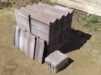 Grovebury Roof Tiles - Brown 02 Double Pantiles