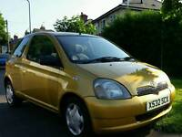 TOYOTA YARIS AUTOMATIC 63K LOW MILES HPI CLEAR