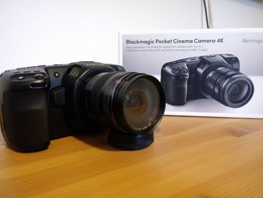Blackmagic Pocket Cinema Camera 4k Kit With Panasonic 12 35mm F 2 8 Mft In Kilburn London Gumtree