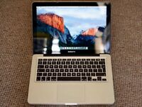 MacBook Pro (13-inch) Intel i5, 8GB RAM, 500GB HD, Amazing Condition