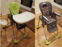 Chicco Polly 2 in 1 highchair feeding chair