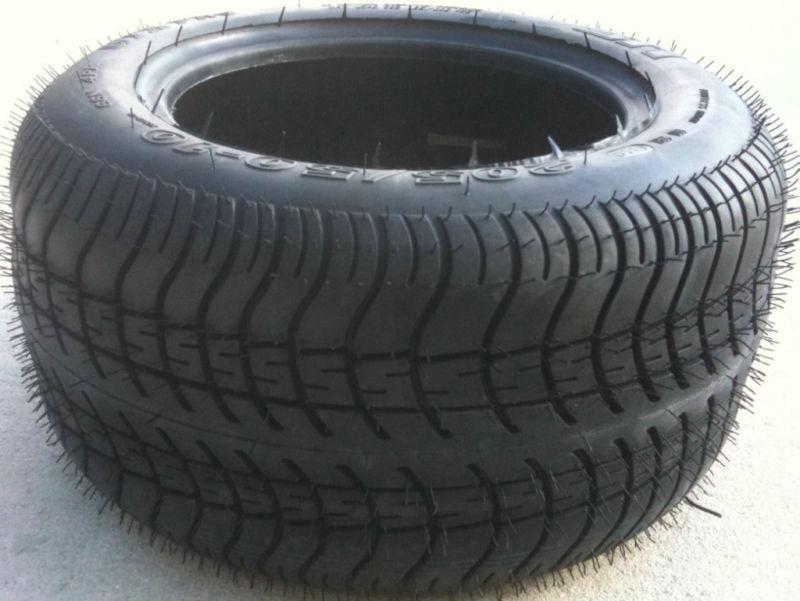 Set of (4) 205-30-14 or 215-35-14 Golf Cart Car DOT Tires 205x30-14 215x35-14
