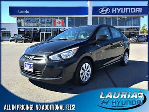 2015 Hyundai Accent 4DR GL Auto - Bluetooth / Heated seats