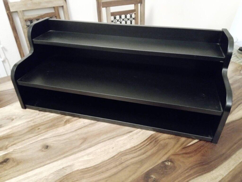 Black ikea klimpen small shelf add on unit in southampton