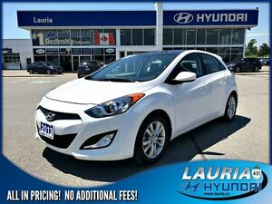 2013 Hyundai Elantra GT GLS Manual - Low kms/Panoramic roof