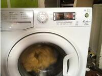 10 kg Hotpoint washing machine