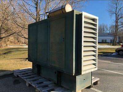 175kw Cat Diesel Generator Set Model 3208 208v Reconnectable 692 Hours