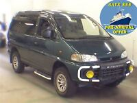 1994 Mitsubishi Delica 88K's 4WD CRYSTAL ROOF PRE-ARRIVAL OFFER
