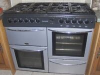 belling countrychef 100 cm range gas cooker nr newport S.Wales