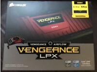 Boxed new Corsair 64GB Vengeance LPX DDR4 3600MHz RAM/Memory Kit 4x 16GB