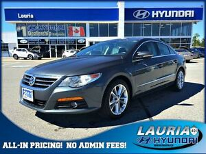 2011 Volkswagen CC Sportline - Leather / Loaded / Awesome!