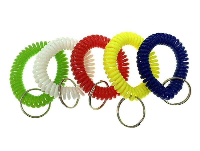 Huanx35 Colorful Spring Spiral Wrist Coil Flexible Spiral Co