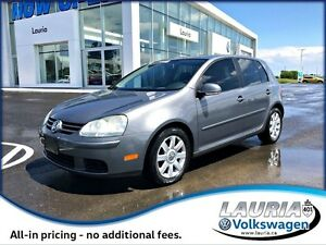 2009 Volkswagen Rabbit Comfortline Auto - ULTRA LOW KMS!!