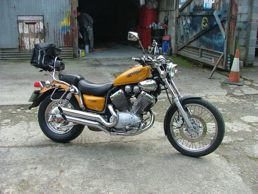 Yamaha virago xv535 in llanybydder carmarthenshire for Yamaha clp 535 for sale