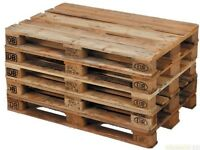 Euro Pallets wooden WANTED. Will pay small fee for good quality ones.