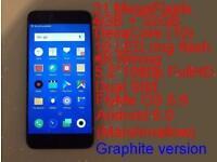 4K Unlocked MEIZU PRO6 21mp 4gb 32gb Dual-SIM smartphone 5.2 CorningGorilla Android 6.0 Fingerprint