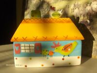 a lovely Cottage Ware Pottery Dish Box