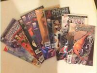 11 spiderman comics £10