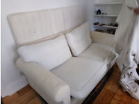 Free Sofa Bed Double Off-white: works fine but stained and cover shrunk a bit; half assembled
