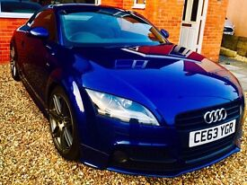 Audi TT Coupe Black Edition 2.0 TFSI 211 PS 6 speed