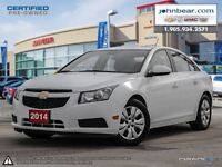 2014 Chevrolet Cruze CHEVROLET MYLINK, 7 COLOUR TOUCH SCREEN RAD