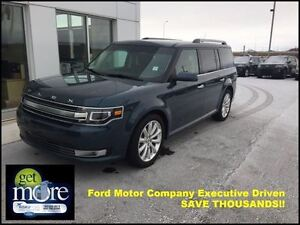 2016 Ford Flex Limited AWD Ecoboost $249.03 b/weekly!!