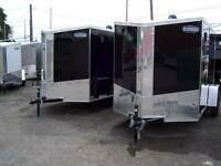 NEW 6X10 AND 6X12 CARGO TRAILERS