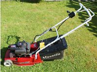 SPARE or REPAIR MOUNTFIELD EMPRESS SP16 PETROL SELF PROPELLED ROTARY MOWER COMPLETE NEEDS ATTENTION