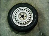Ford transit connect spare wheel