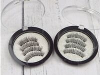 4 Pairs of New Magnetic False Eyelashes, 2 Styles