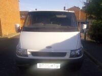 ford transit factory fitted crews van £1595 or offers