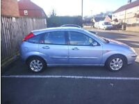 Reliable Ford focus clean and tidy
