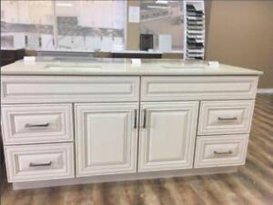 Kitchens, Vanities & Stone Counters @ Factory Prices! Please Check Out Our Reviews! Quartz, Granite, Cabinetry, Islands!