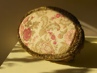 Vintage Footstool With Queen Anne Feet