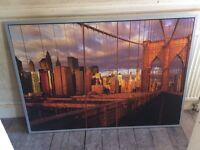 Brooklyn Bridge, New York Framed Picture